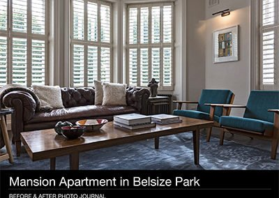 Mansion Apartment in Belsize Park